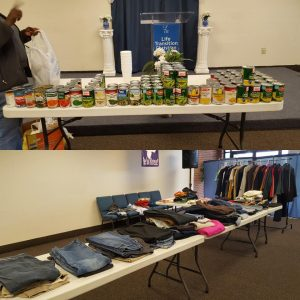 Annual Coat and Canned Good Giveaway 2018